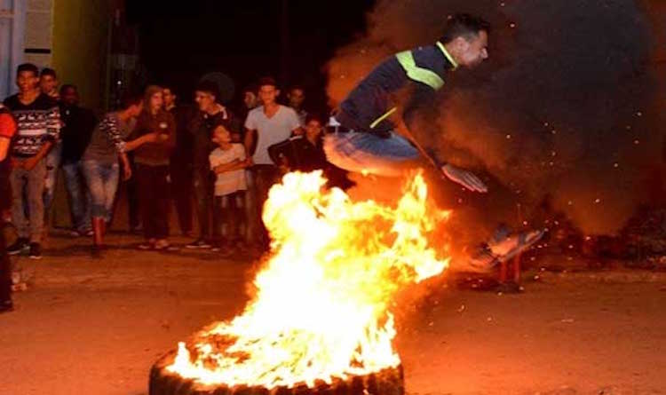 قتيل وإصابات في إحتفالات أطفال البيضاء بعاشوراء