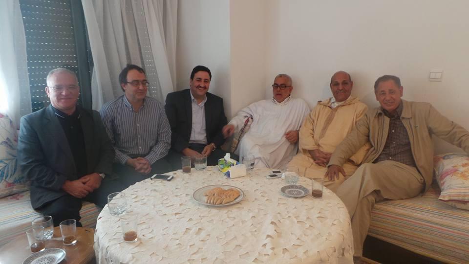 صورة عاجل: بنكيران يتعهد بدعم مرشح شباط لرئاسة مجلس المستشارين
