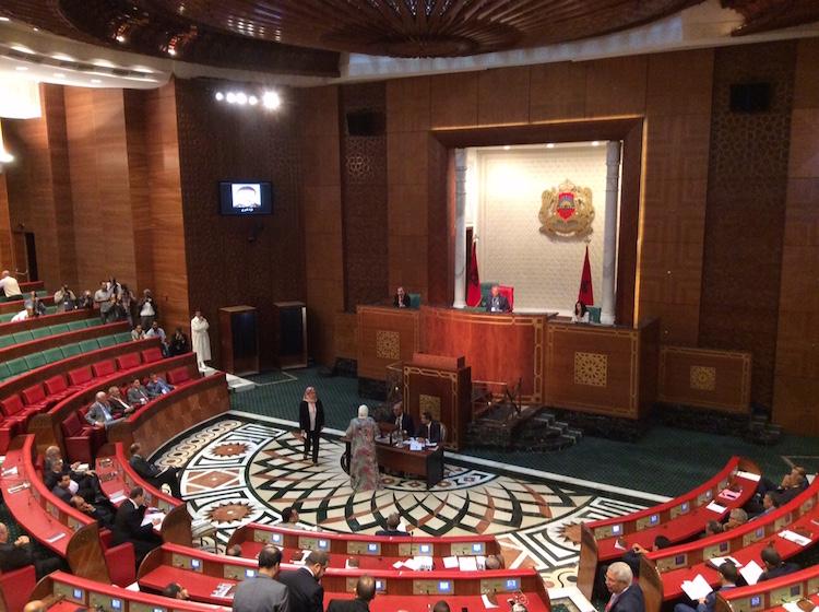 رفاق الأموي يمتنعون عن التصويت على رئيس مجلس المستشارين