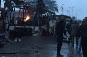 عاجل 11 قتيلا في تفجير حافلة للحرس الرئاسي التونسي