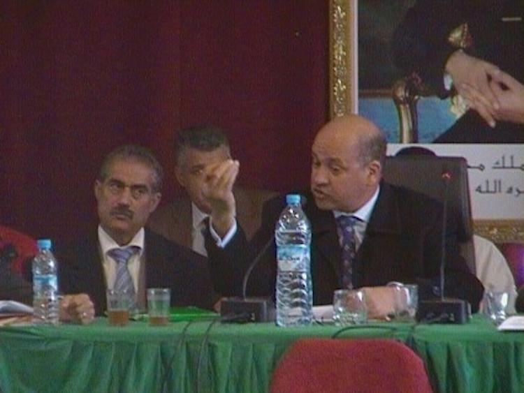 صورة هيئة المحامين بمراكش توقف رئيس بلدية السراغنة سنة كاملة