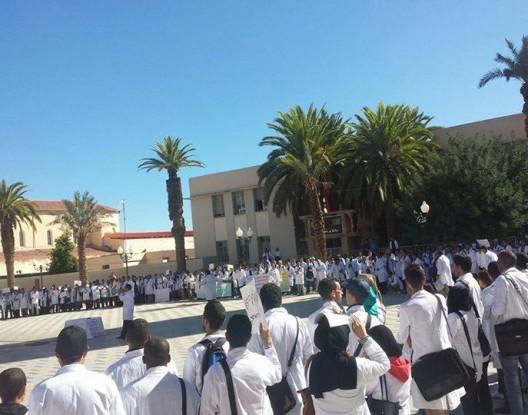 تعنيف مدير وأستاذين يخرج إداريين وأساتذة للاحتجاج بالخميسات