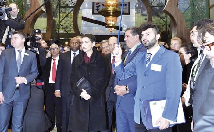 الأميرة للا مريم تفتتح الجناح المغربي بمعرض الأسبوع الأخضر ببرلين