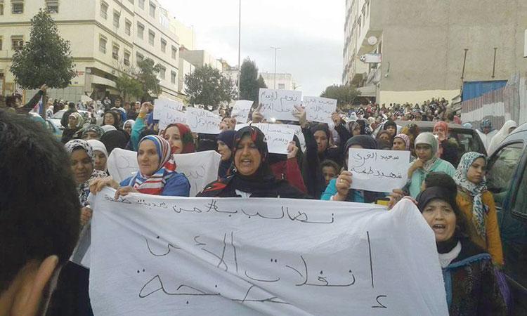 صورة جنازة «تاجر المجوهرات» تتحول إلى مسيرة احتجاجية والأمن يلغي تمثيل الجريمة