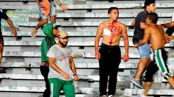 """صورة هذه عقوبة الجامعة في حق الرجاء بعد أحداث """"السبت الأسود"""""""