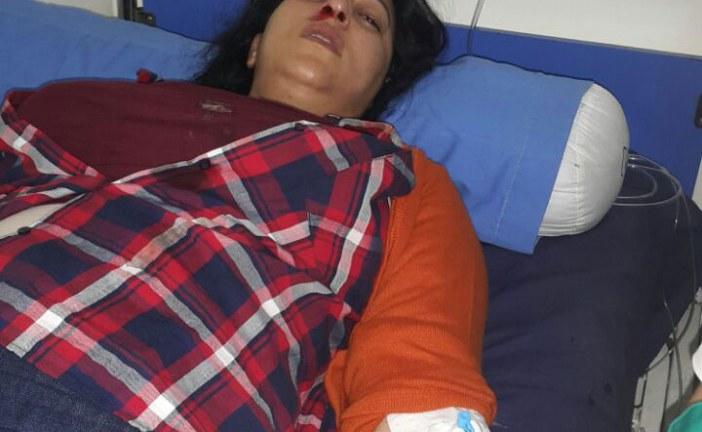 النحس يطارد «الشعيبية» ضربة رأسية مباغتة تتسبب في كسر أنف بوطازوت وتدخلها غرفة العمليات