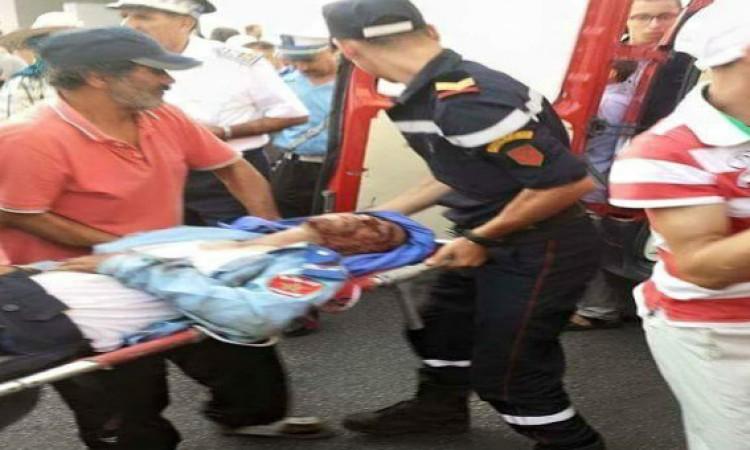 صورة «النبيكة» يدخل شرطيا بآسفي في غيبوبة ويفر بالأصفاد