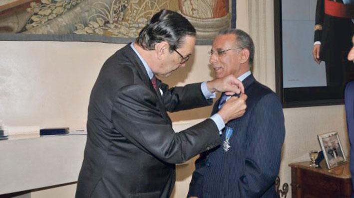 صورة إسبانيا تختار عبد الإله التهاني لتوشيحه بوسام الاستحقاق
