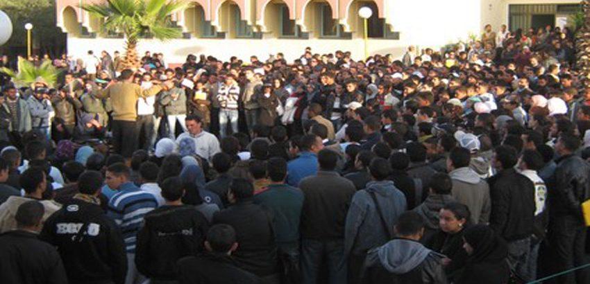 صورة ملف محاكمة الطلبة المتهمين بحلق رأس فتاة جامعة مكناس يدخل المداولة