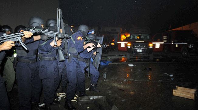 37 جريحا حصيلة مواجهة نزلاء عكاشة للأمن بالدار البيضاء