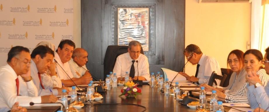 الحركة الشعبية يعقد اجتماعا لمكتبه السياسي للرد رسميا على بنكيران