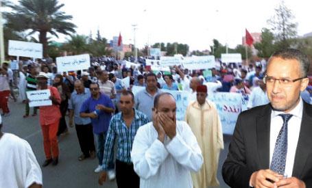 صورة حقوقيون وجمعويون يدعون لمسيرة لعزل الشوباني