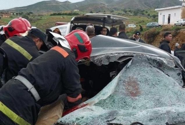 مصرع 4 أشخاص وإصابة آخرين في حادثة سير خطيرة قرب سطات