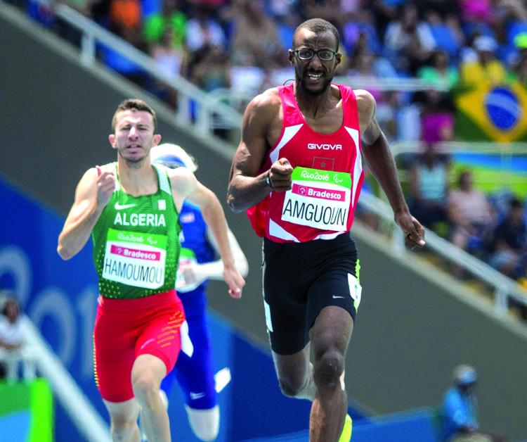 صورة أمكون يهدي المغرب الذهبية الثانية ويحطم الرقم القياسي في سباق 400 متر
