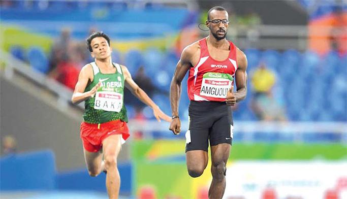 محمد أمكون ينقذ وجه المغرب في رياضة ألعاب القوى