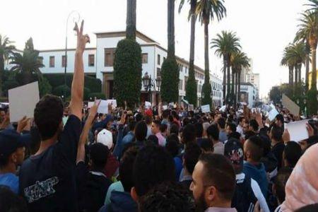 مئات المحتجون بالرباط يطالبون بتحقيق عميق في قضية مقتل فكري