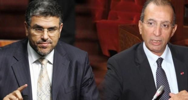 حصاد والرميد يجتمعان مع قادة الأحزاب السياسية في غياب رئيس الحكومة