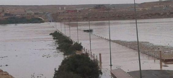 بتعليمات ملكية: وفد وزاري يزور العيون بعد فيضان وادي الساقية الحمراء
