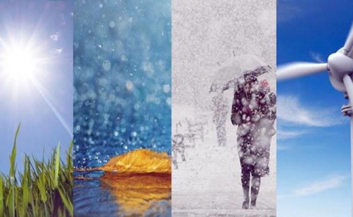 توقعات الأرصاد الجوية ليوم الاثنين
