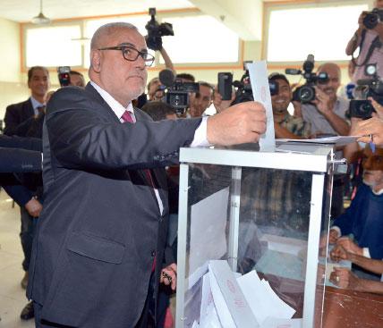 بعدما استبق حزبه وزارة الداخلية في إعلان النتائج الأولية للانتخابات التشريعية