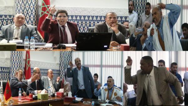 مكالمة هاتفية للرئيس تنسف دورة مجلس بلدية الداخلة