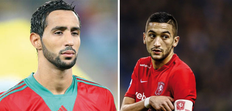 المغربيان بنعطية و زياش ضمن لائحة المرشحين لنيل جائرة أفضل لاعب افريقي
