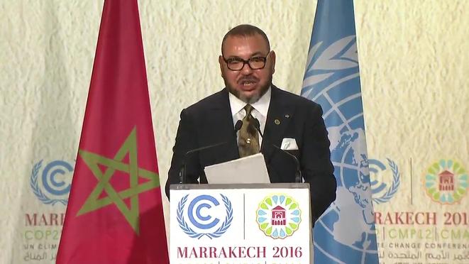 """الملك محمد السادس :"""" مؤتمر مراكش للحقيقة والوضوح وتحمل المسؤولية أمام الله والتاريخ"""""""