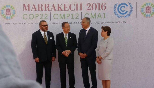 الملك يستقبل قادة الدول المشاركة في كوب 22 بمراكش