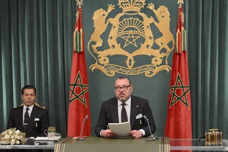 الملك يوجه خطاب المسيرة الخضراء من دكار