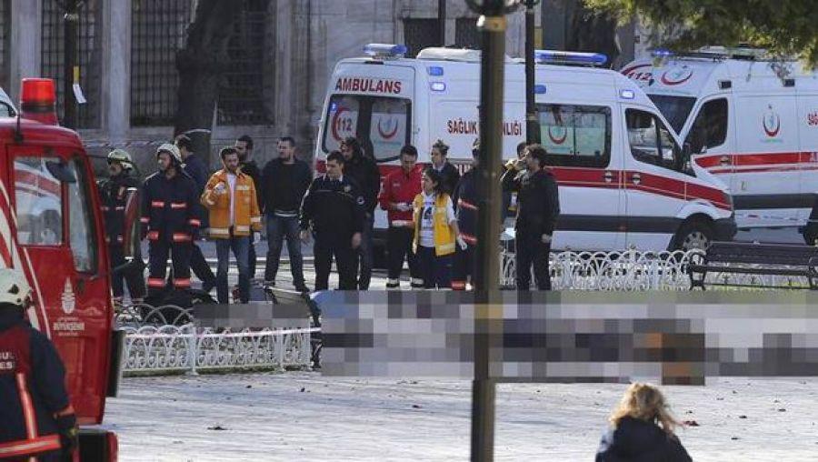 صورة انفجار يهز تركيا
