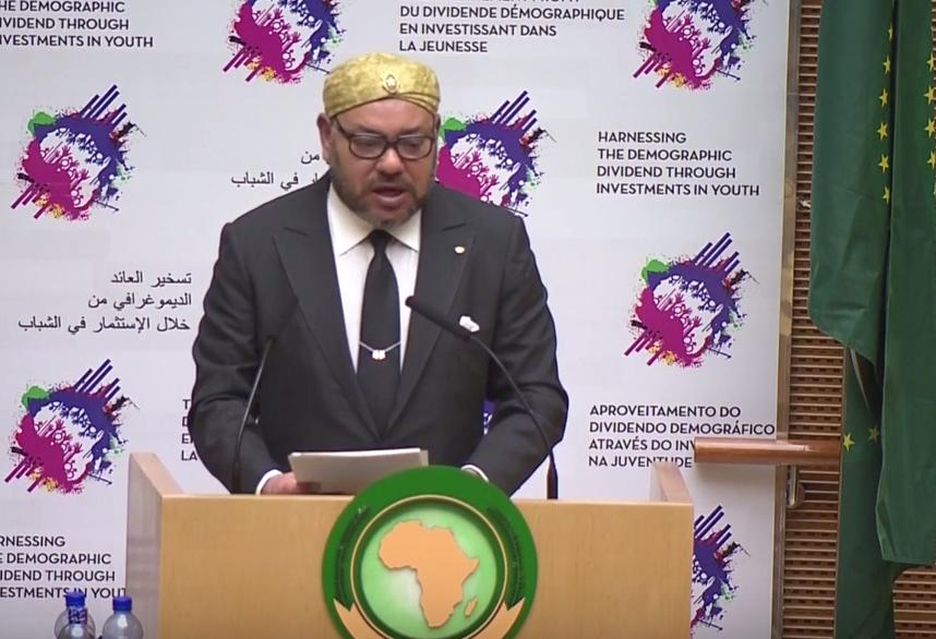 """الملك محمد السادس :""""لا البترول ولا الغاز يمكنهما تلبية الاحتياجات الغذائية للقارة الافريقية"""""""