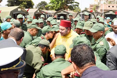 بتعليمات من الملك المغرب يقيم مستشفى ميداني متعدد التخصصات في جوبا