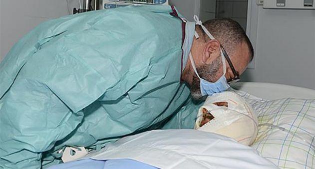 الملك يزور ضحايا حادث شيشاوة ويتكفل بمصاريف علاج المصابين