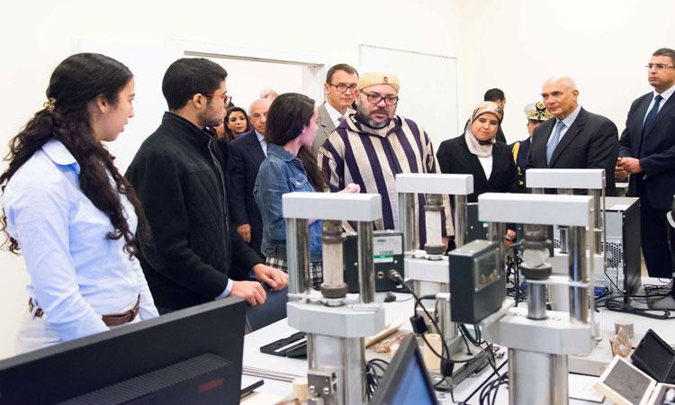 الملك محمد السادس يدشن مشروعين إيكولوجيين ببنجرير