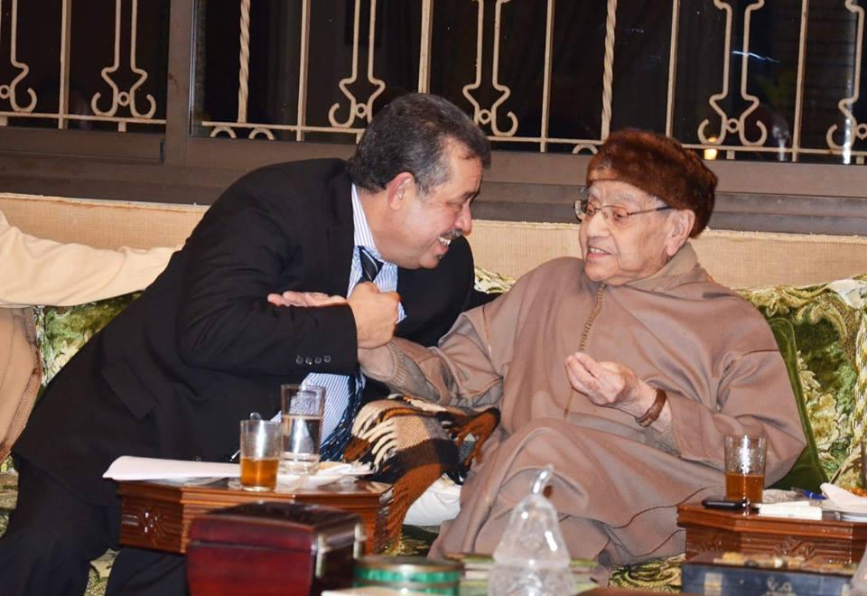 رحيل محمد بوستة موقع بلاغ المطالبة بإقالة شباط