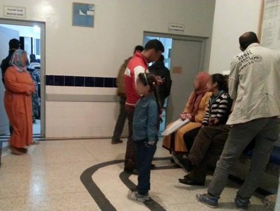 إيقاف لص بمستشفى في طنجة متنكرا في لباس عامل نظافة لسرقة رضيع