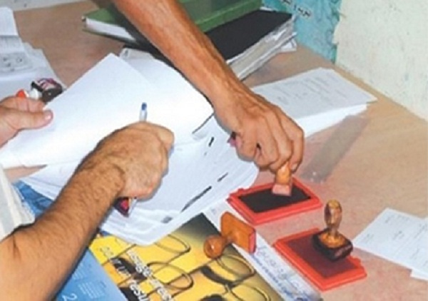 صورة اعتقال «طبوغرافي» في ملف تزوير والتحقيق يجر موظفين ومستشارين جماعيين ببرشيد للمساءلة القضائية
