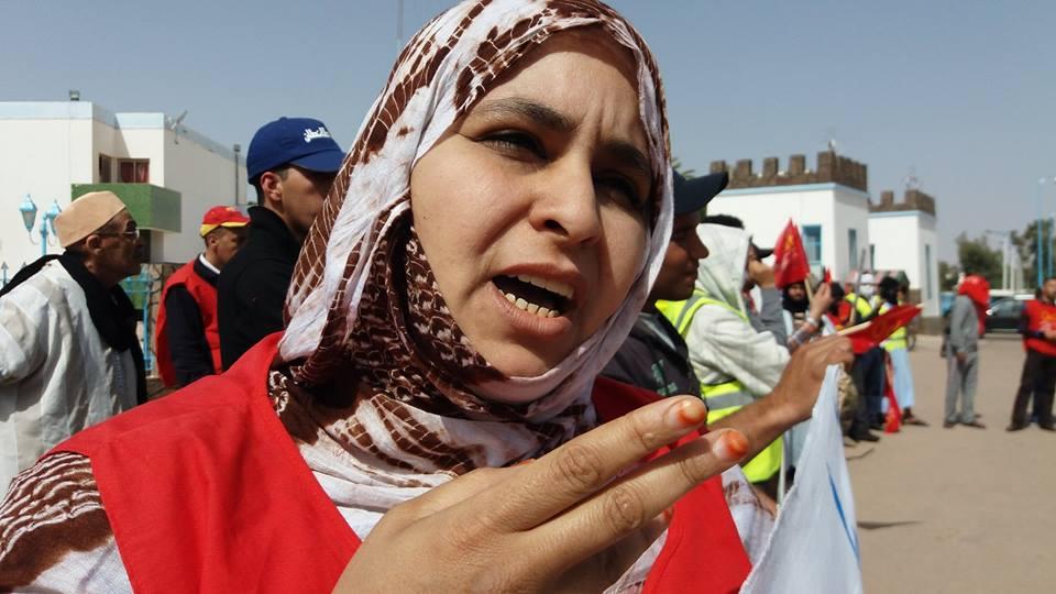 محتجون بطانطان يكشفون تلاعبات في عمليات توزيع بطائق الإنعاش