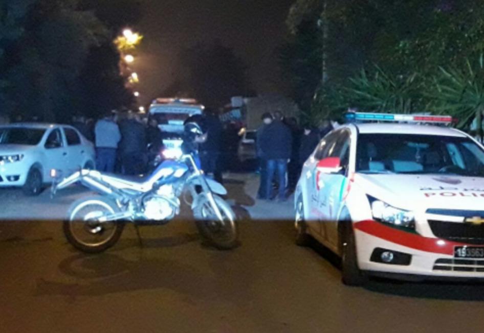صورة إيقاف مشتبه فيه اغتيال النائب البرلماني بالدارالبيضاء