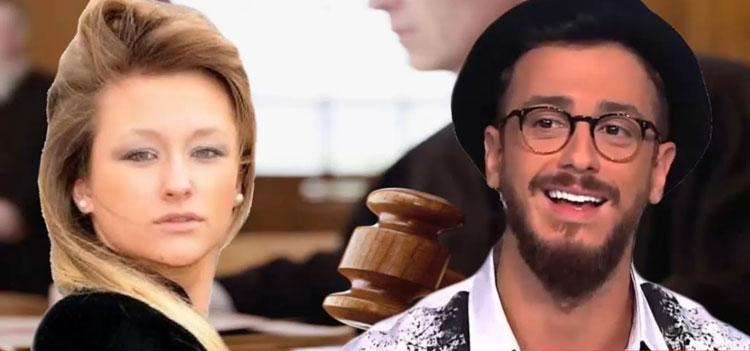 صورة تفاصيل مواجهة سعد لمجرد ومتهمته لورا في المحكمة
