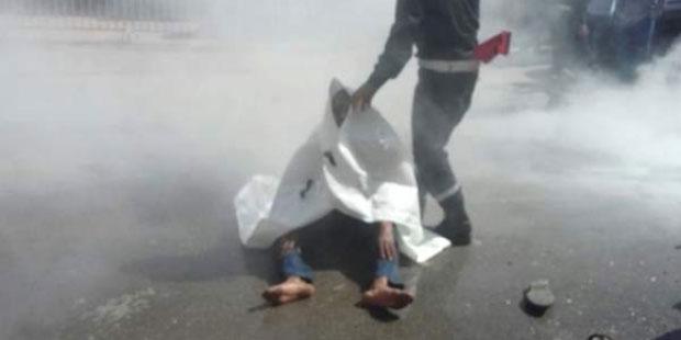 شخص يضرم النار في جسده أمام المحكمة الابتدائية بالمحمدية احتجاجا على حكم قضائي