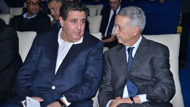 تسليم السلط بين أخنوش وساجد في مقر وزارة السياحة