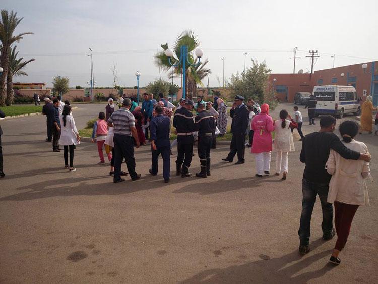 لغز الهستيريا الجماعية التي أصابت 108 تلميذات بمؤسسات تعليمية بجهة بني ملال خنيفرة