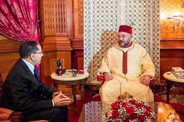 الملك يعين وزراء حكومة العثماني