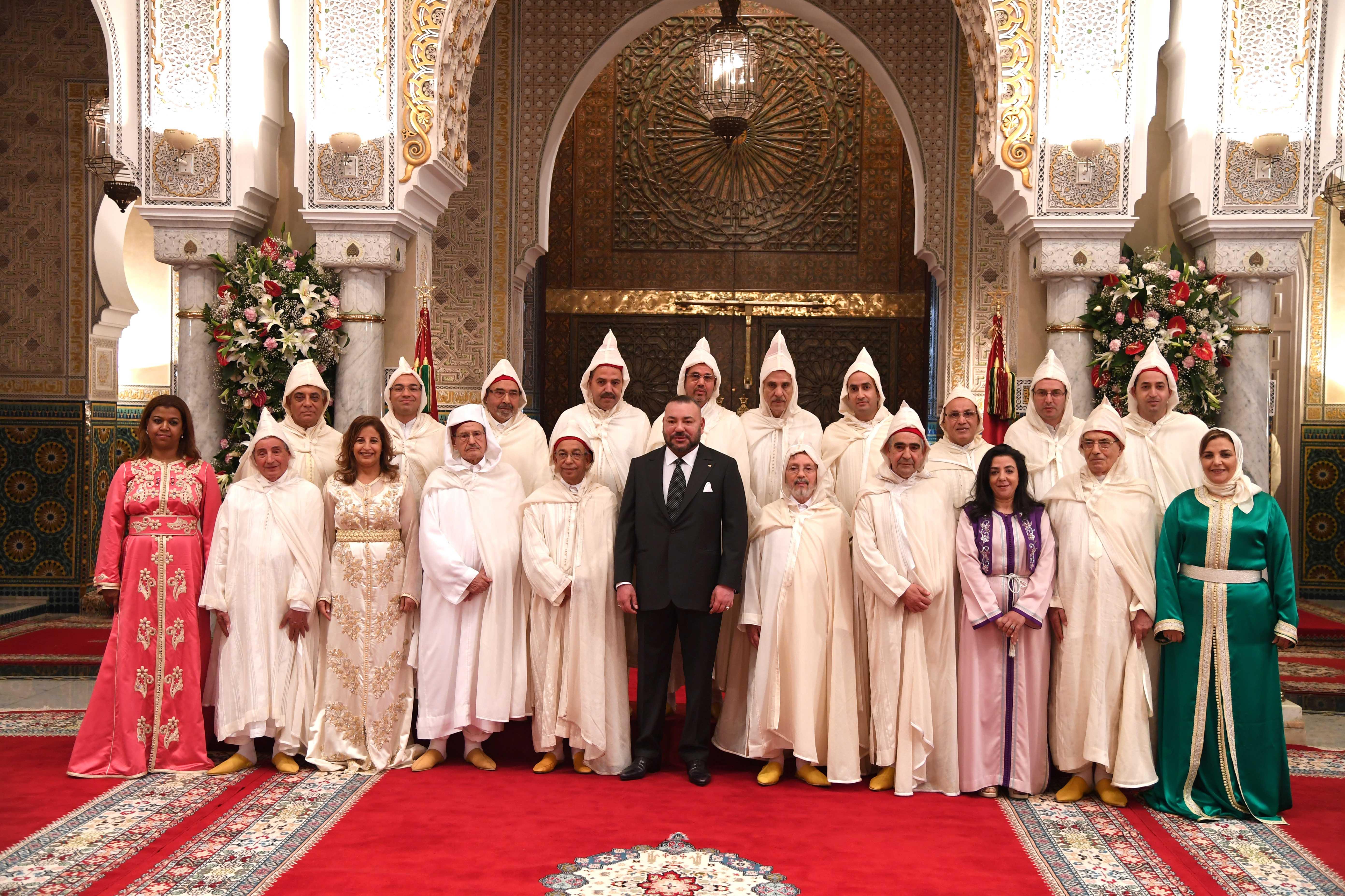 الملك يعيين أعضاء المجلس الأعلى للسلطة القضائية