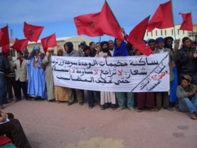 «اختلالات» توزيع حصص تموين سكان مخيمات الوحدة تشعل احتجاجات عاصفة ببوجدور