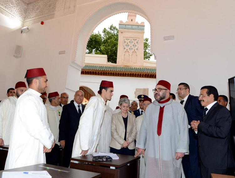 الملك يترأس حفل تقديم برنامج تأهيل مجموعة من المدارس العتيقة بفاس