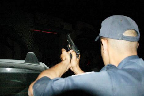 الفرقة الوطنية تستعمل الرصاص الحي لإيقاف تاجر مخدرات مبحوث عنه ببرشيد