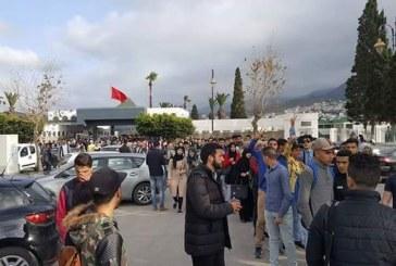 الإعلام الدولي يتناول فضيحة كلية العلوم بتطوان والطلبة ينقلون احتجاجاتهم إلى وسط المدينة
