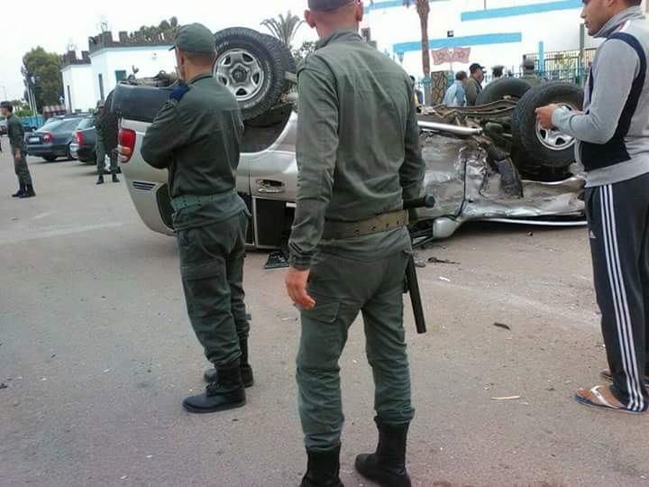 إطلاق الرصاص بعد حادثة سير غامضة أمام باب عمالة طانطان